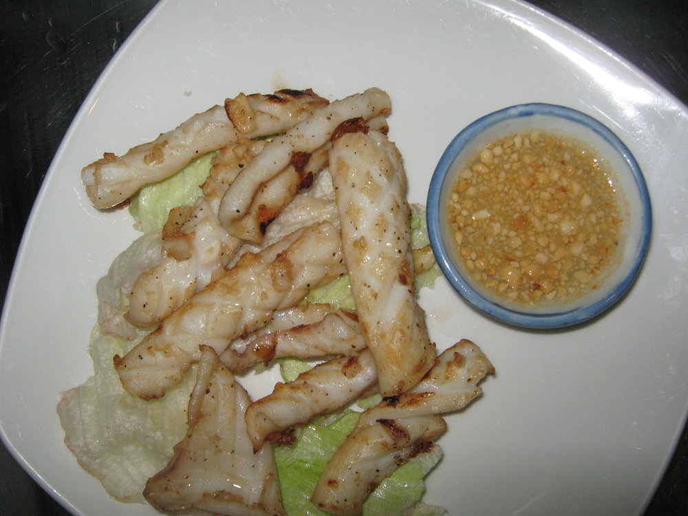 THAI  BBQ SQUID