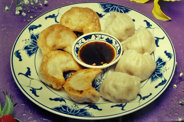 STEAMED. FRIED DUMPLINGS