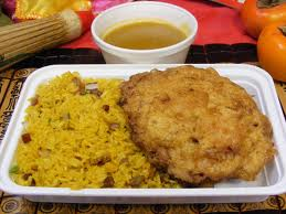 Chicken Egg Foo Young Combo