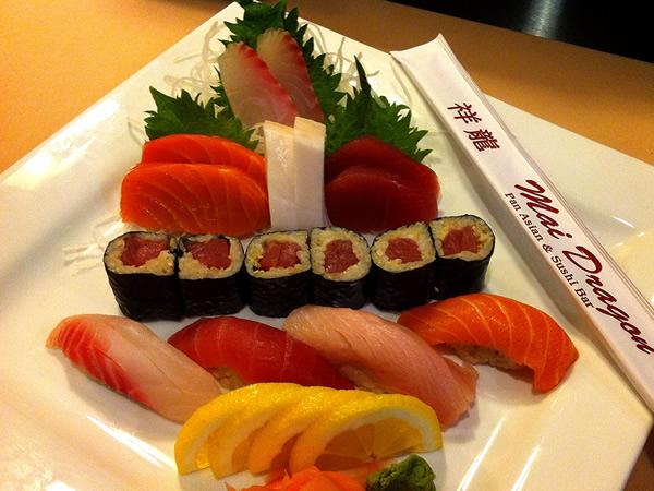 Sushi, Sashimi & Roll