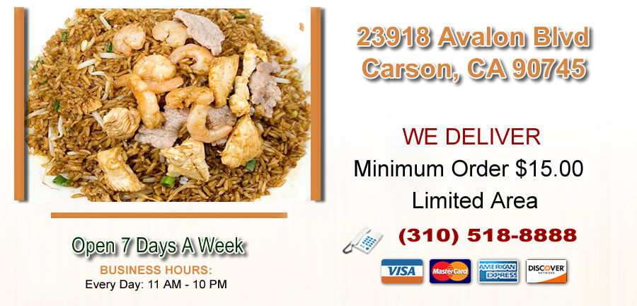 Rice Kitchen | Order Online | Carson, CA 90745 | Chinese