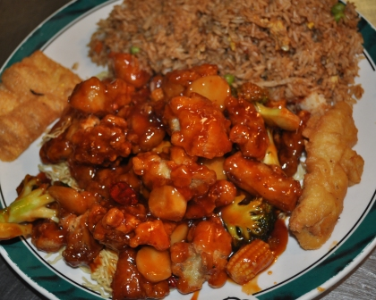 Orange Chicken Lunch