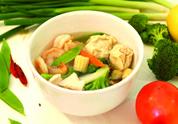 yang chow won ton soup