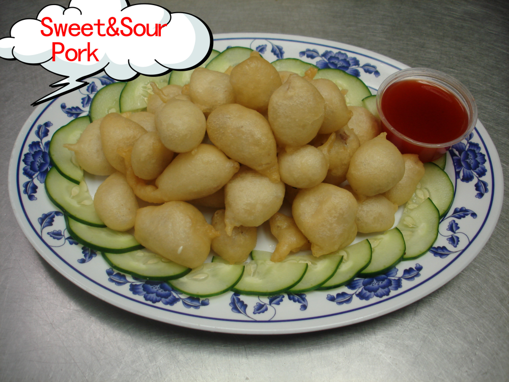 Sweet &sour pork