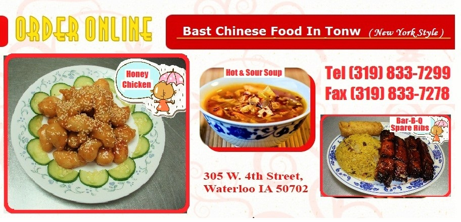 Chinese Food Waterloo Order Online