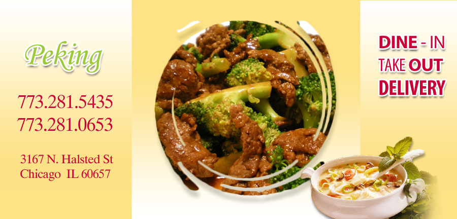 Peking Chinese Kitchen | Order Online | Chicago, Il 60657 | Chinese