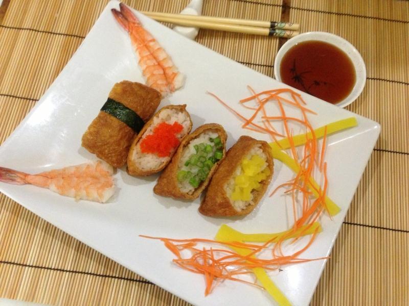 Promotion: Inari Beancurd Sushi
