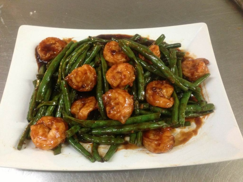 Shrimp w String Beans