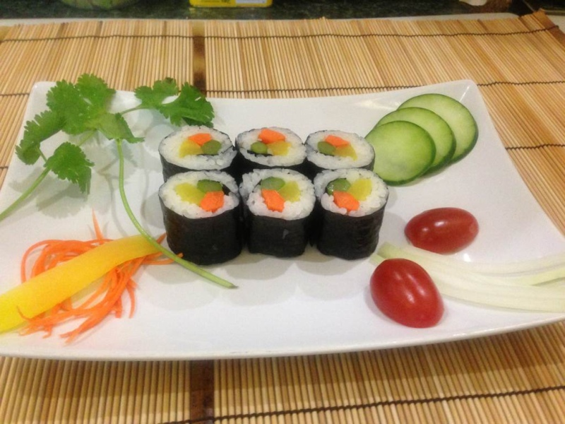 Promotion: veggie Roll