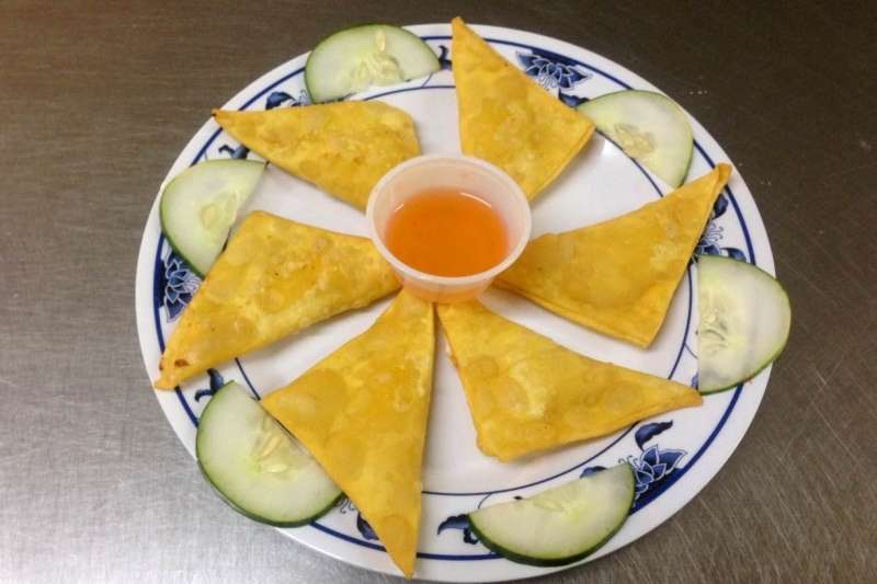 Cheese Fried WOntons