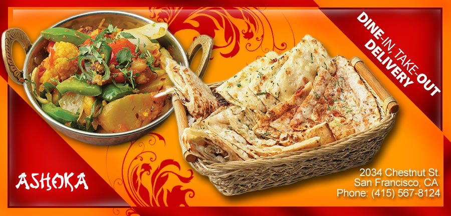 ashoka indian cuisine order online san francisco ca On ashoka indian cuisine san francisco