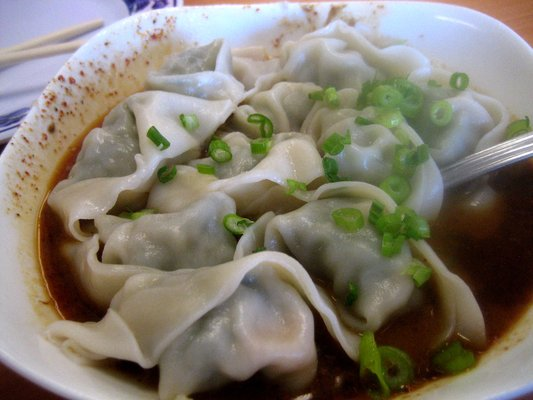 Wonton in Spicy Sauce