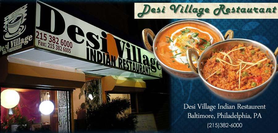 Desi Village Restaurant Philadelphia Pa