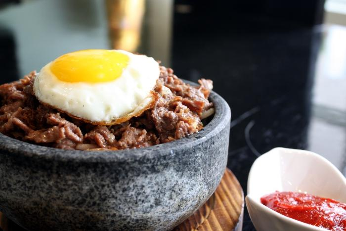 Korean Stone Beef Rice Bowl