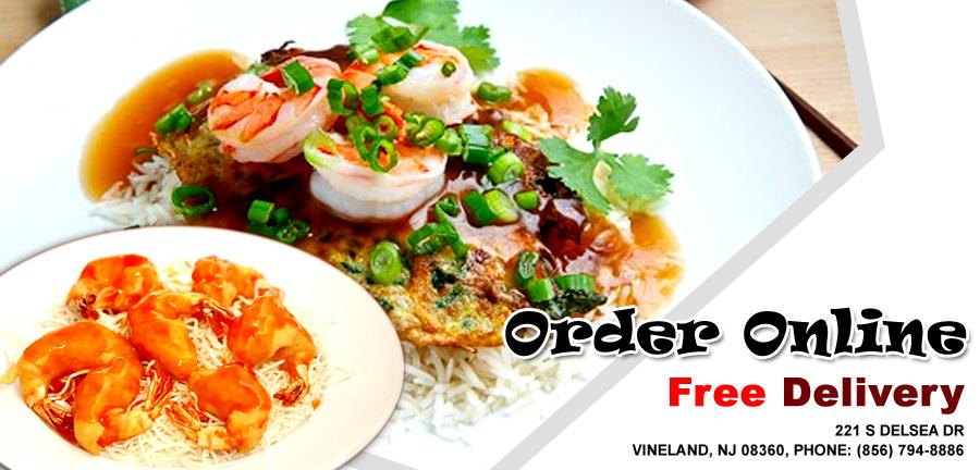 Ocean Garden Chinese Restaurant Menu Vineland Nj