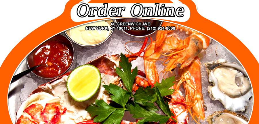 Gusto ristorante e bar americano order online new york for Bar americano nyc