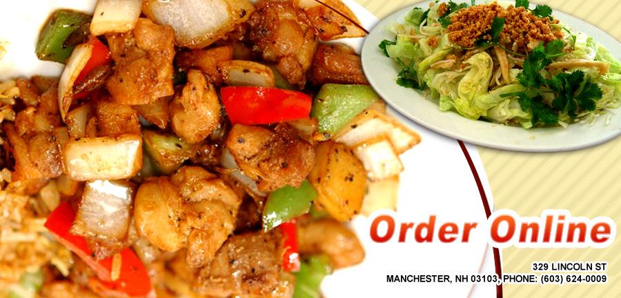 Happy Garden Chinese Restaurant Menu Manchester Nh