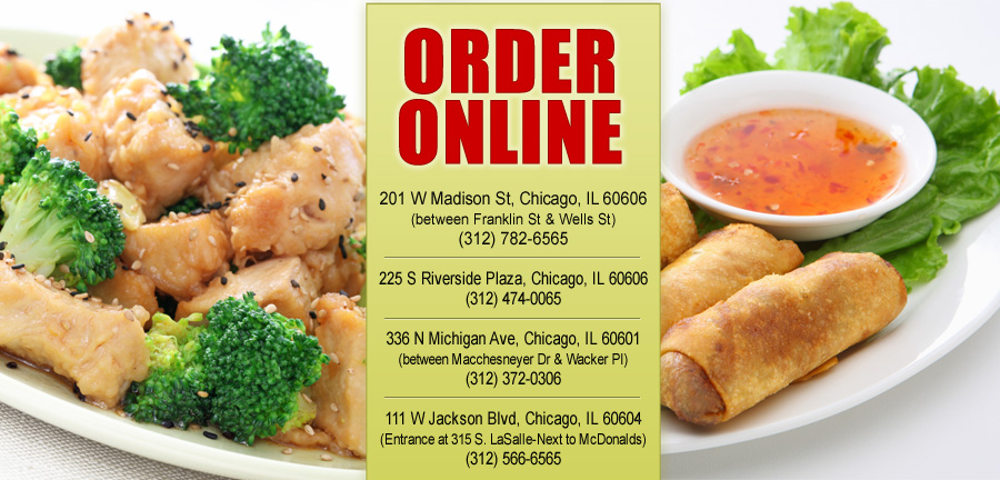 Sixty Five Chinese Restaurant Order Online Chicago Il 60606