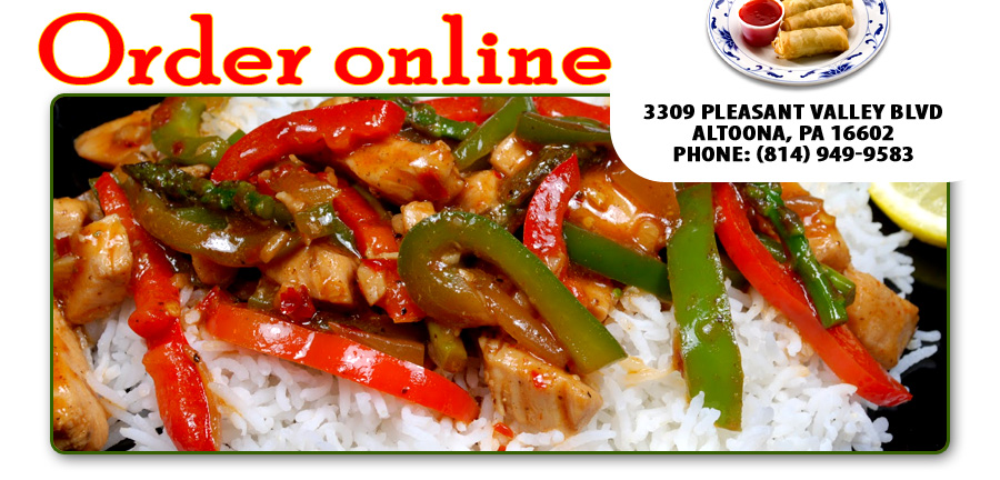 No 1 Chinese Restaurant Order Online Altoona Pa 16602 Chinese