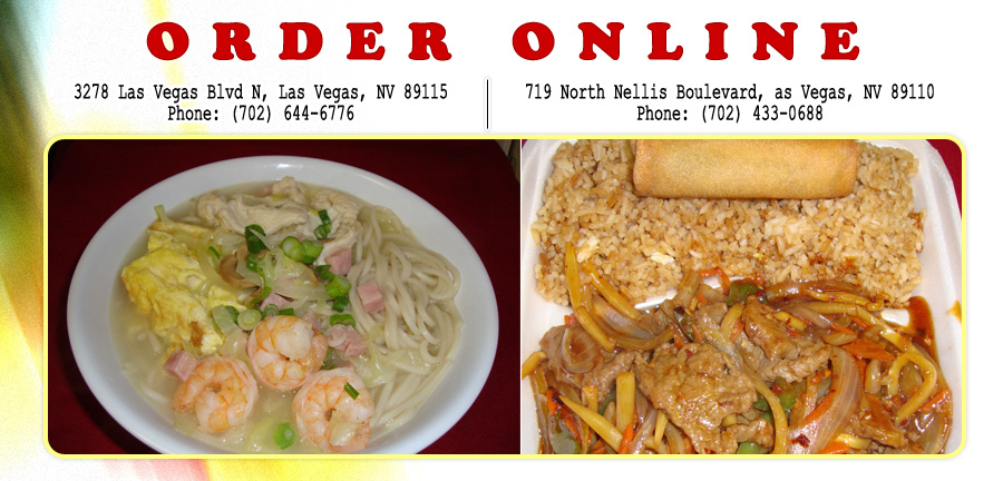 Chinese Food Delivery North Las Vegas