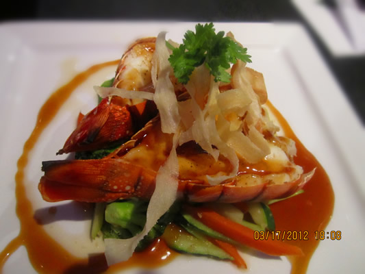 Lobster Teriyaki