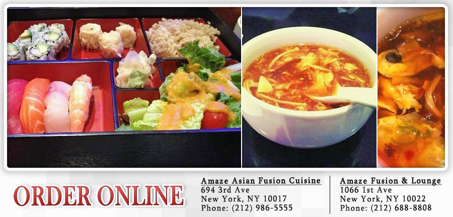 amaze asian fusion cuisine order online new york ny