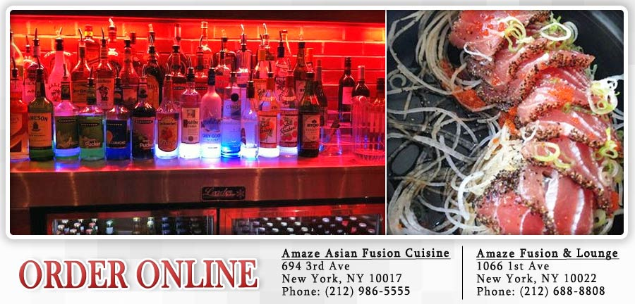amaze asian fusion cuisine order online new york ny 10017 sushi - Asian Kitchen Madison