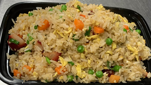 BBQ PORK FRIED RICE DD