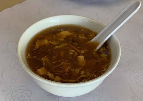 Hot and Sour Soup DD