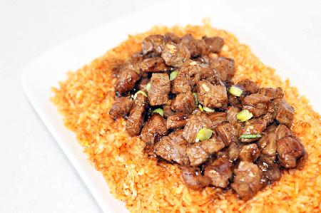Beef-Cube-Tomato-Rice