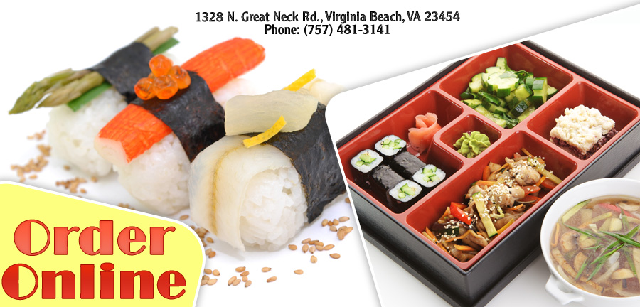 Volcano Sushi Bar Great Neck Rd Order Online Virginia Beach Va 23454