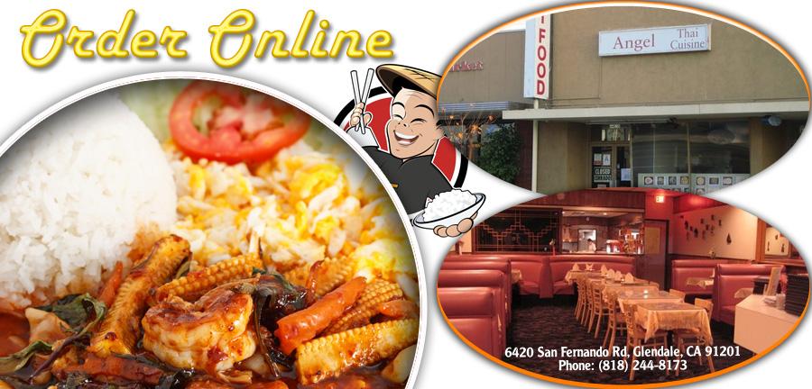 Angel thai cuisine order online glendale ca 91201 thai for Angel thai cuisine