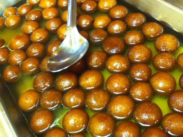 Gulab Jamen (pastry balls)