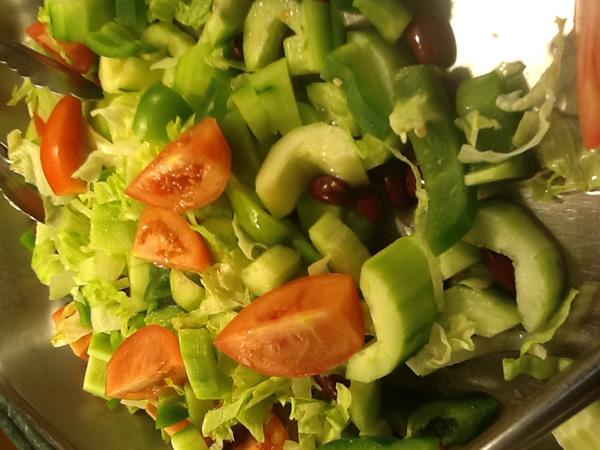Cummber salad