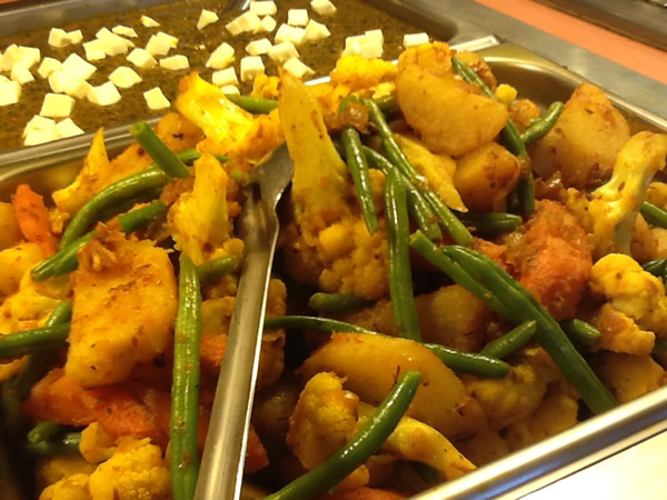 Mixed vege curry