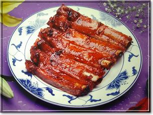 Barbeque rib