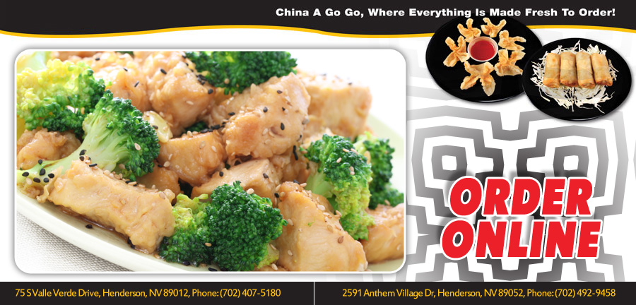 China A Go Go Order Online Henderson Nv 89012 Chinese