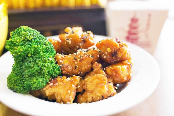 C 14 Sesame Chicken
