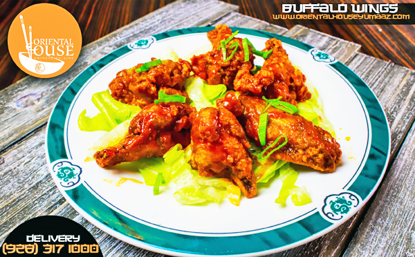 Buffalo Wings Food Oriental House Chinese Food