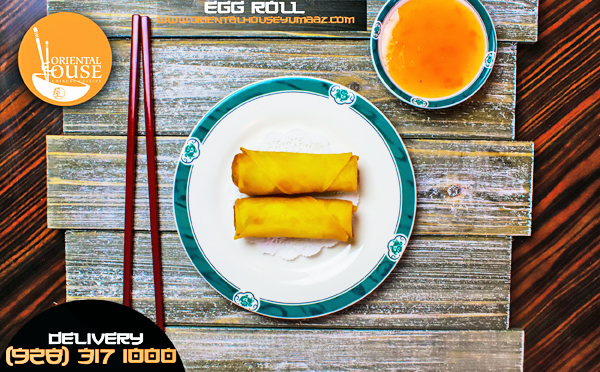 Egg Roll Food Oriental House Chinese Food
