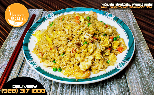 Fried Rice Food Oriental House Chinese Food