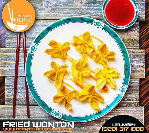 Fried Wonton Oriental House Chinese Food