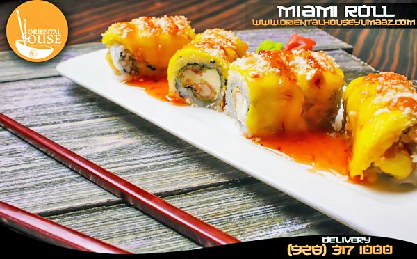 Miami Sushi Roll Orienta House Yuma 1