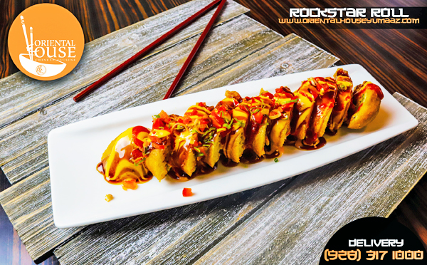 Rockstar Roll Food Oriental House Chinese Food