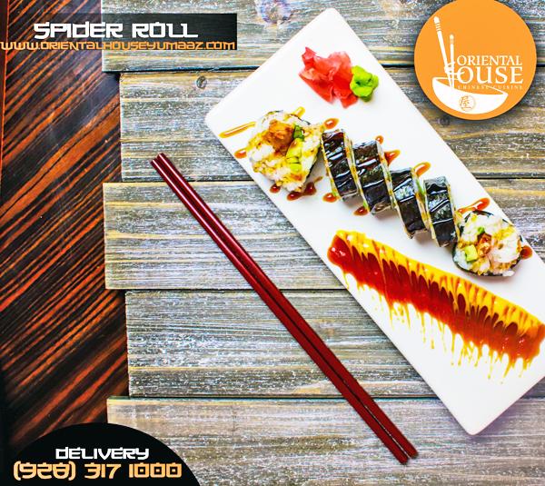 Spider Sushi Roll Orienta House Yuma 2