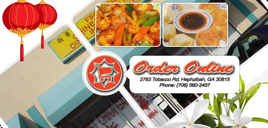 First Garden Chinese Restaurant Menu
