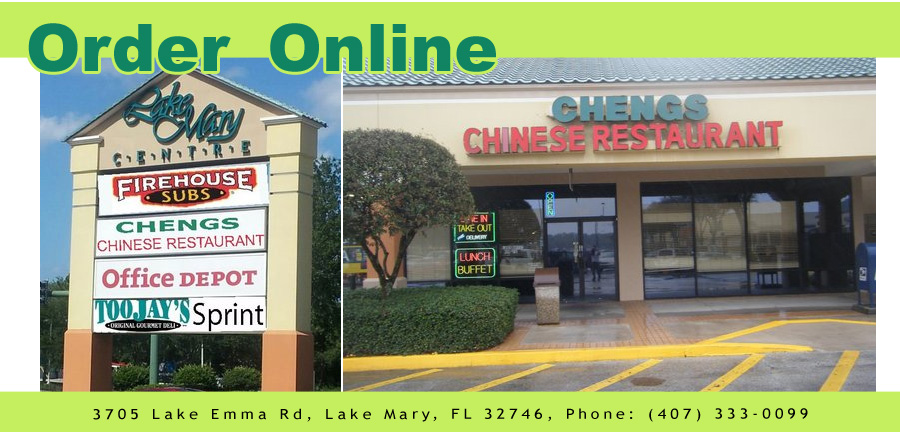 Cheng S Chinese Restaurant Order Online Lake Mary Fl 32746
