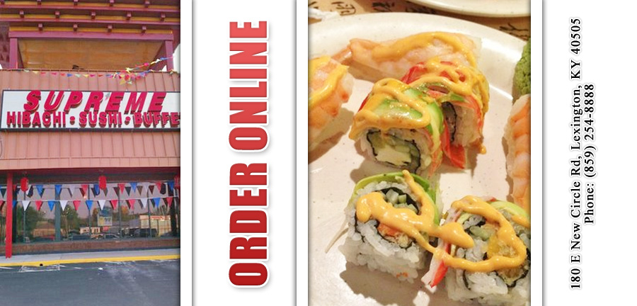 Supreme Hibachi Buffet Order Online Lexington Ky 40505 Chinese