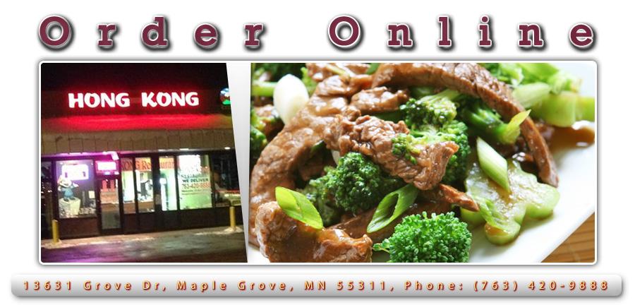 Hong Kong Chinese Restaurant Order Online Maple Grove Mn 55311