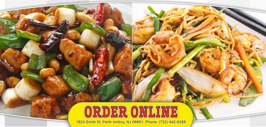 Asian Cafe Perth Amboy Menu